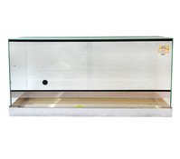 Dehner Ganzglasterrarium, 100x50x50 cm