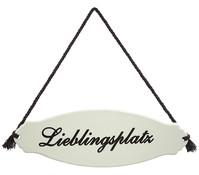 Dehner Gartenschild 'Lieblingsplatz'