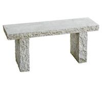 Dehner Granit-Gartenbank, 2-Sitzer
