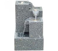 Dehner Granit-Gartenbrunnen Cascada, 43 x 43 x 65 cm