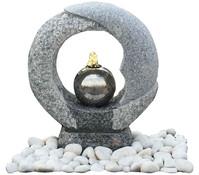Dehner Granit-Gartenbrunnen Cecina, Ø 56 x 42 cm