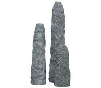 Dehner Granit-Gartenbrunnen Mountains, 25 x 25 x 80 cm