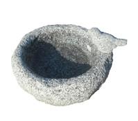 Dehner Granit-Vogeltränke, 28,5 x 23,5 x 15 cm