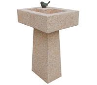 Dehner Granit-Vogeltränke, 30 x 30 x 30 cm