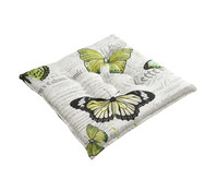 Dehner Hockerpolster Schmetterling