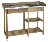 Dehner Holzpflanztisch Comfort,117x45cm