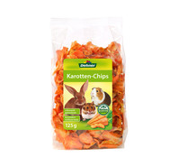Dehner Karotten-Chips, Nagersnack, 125 g