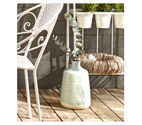 Dehner Keramik-Vase, 20 x 20 x 30 cm