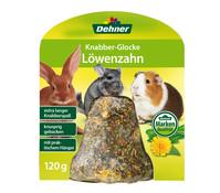 Dehner Knabber-Glocke Löwenzahn, Nagersnack, 125 g