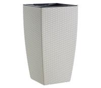 Dehner Kunststoff-Flechttopf Casa Mesh