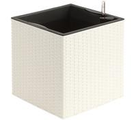 Dehner Kunststoff-Pflanztopf, quadratisch, Ø 36 cm