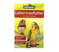 Dehner Lebertranfutter für Sittiche und Exoten, 20 g