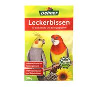 Dehner Leckerbissen für Großsittiche und Zwergpapageien, 20 g
