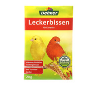 Dehner Leckerbissen für Kanarien, 20 g