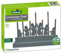 Dehner LED-Lichterbogen Engel, 7 Lichter, 21,5 cm hoch