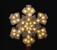 Dehner LED-Schneeflocke 3D-Optik, 40 cm