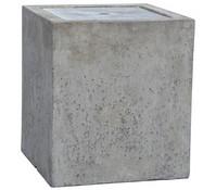 Dehner Leichtbeton-Gartenbrunnen Cube, 40 x 40 x 45 cm