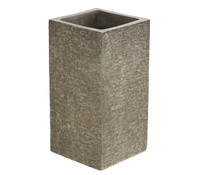 Dehner Leichtbeton-Pflanzvase, steingrau