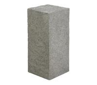 Dehner Leichtbeton-Säule Clayfibre Rocky, grau