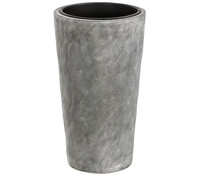 Dehner Leichtbeton-Topf, grau, Ø 28 x 50 cm