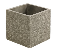 Dehner Leichtbeton-Topf, grau