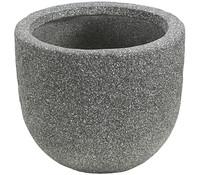 Dehner Leichtbeton-Topf, rock grau