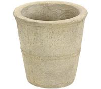 Dehner Leichtbeton-Topf, rund, sand