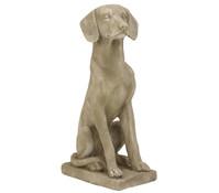 Dehner Magnesia-Hund sitzend, braun