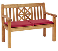Dehner Markenqualität Akazienbank St. Andrews, 3-Sitzer, 150 x 63 x 88 cm