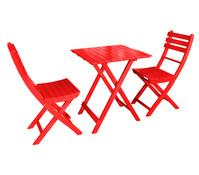 Dehner Markenqualität Balkon-Set Provence, rot