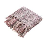 Dehner Markenqualität Decke Coco, weiß/rosa, 180x130 cm