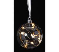 Dehner Markenqualität Glas Kugel mit LED
