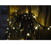 Dehner Markenqualität LED Kette warmweiss, 200 Lichter, ca. 48 m lang