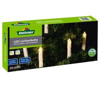Dehner Markenqualität LED-Lichterkette, 20er, elfenbeinfarben