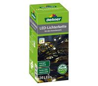 Dehner Markenqualität LED-Lichterkette, 20er