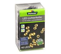 Dehner Markenqualität LED-Lichterkette, batteriebetrieben