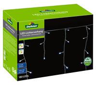Dehner Markenqualität LED-Lichtervorhang, 180 Lichter