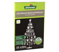 Dehner Markenqualität LED Metall Weihnachtsbaum