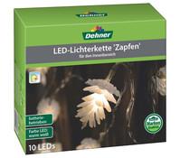 Dehner Markenqualität LED-Zapfenkette, 10er