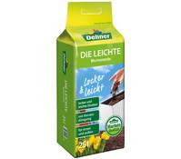 Dehner Markenqualität Leichte Blumenerde, 25 Liter