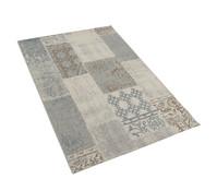 Dehner Markenqualität Outdoor-Teppich blau-braun, 140 x 200 cm