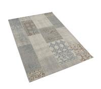 Dehner Markenqualität Outdoor-Teppich blau-braun, 160 x 230 cm