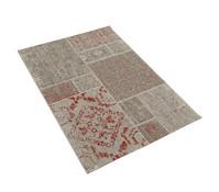 Dehner Markenqualität Outdoor-Teppich rot-braun, 120 x 170 cm