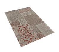 Dehner Markenqualität Outdoor-Teppich rot-braun, 140 x 200 cm