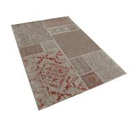 Dehner Markenqualität Outdoor-Teppich rot-braun, 200 x 290 cm