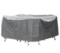 Dehner Markenqualität Schutzhülle Deluxe für Gruppen, 210 x 160 x 80 cm