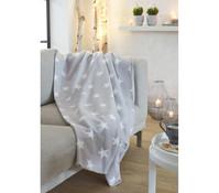 Dehner Markenqualität Sternendecke aus Fleece, 200 x 150 cm