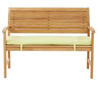 Dehner Markenqualität Teakbank Cullen, 2-Sitzer, 112 x 62 x 89 cm