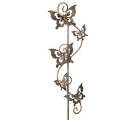 Dehner Metall-Rankstab Schmetterling