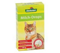 Dehner Milch-Drops für Katzen, Katzensnack, 100g